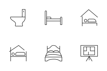 Real Estate Line Set 1 Icon Pack