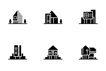 Real Estate - Solid Icon Pack