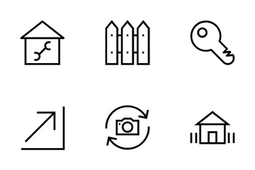 Real Estate Vector Icons Icon Pack