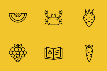 Recipe Food Icon Pack
