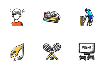 Recreation And Hobbies Icon Pack