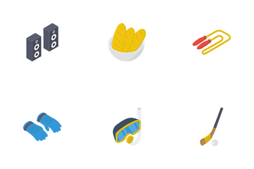 Recreational Activities Icon Pack