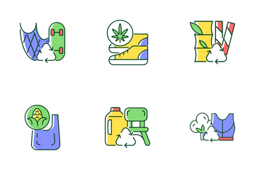 Recycled Materials Icon Pack