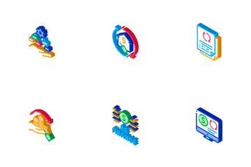 Refinance Financial Icon Pack