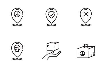 Refugee Icons Icon Pack