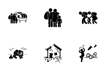 Refugees Icon Pack