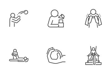 Rehabilitation Icon Pack