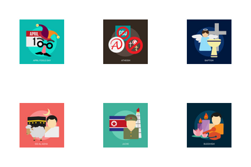 Religion And Celebrations Icon Pack