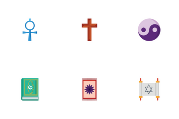 Religious Flat Icon Pack