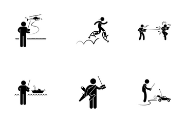 Remote Control Toys Icon Pack