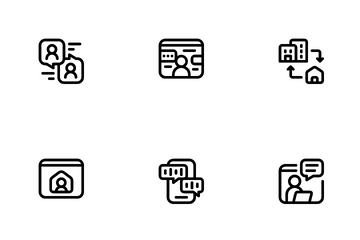 Remote Working Icon Pack