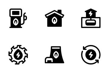 Renewable Energy Icon Pack