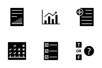 Report And Analysis Icon Pack
