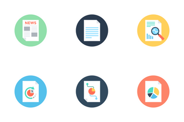 Reports And Analytics 2 Icon Pack