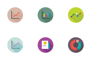Reports And Charts Flat Icons 1 Icon Pack