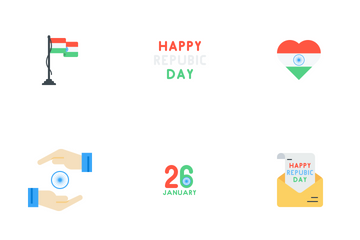 Republic Day Icon Pack