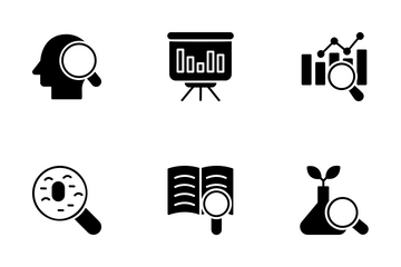 Research And Analysis Icon Pack