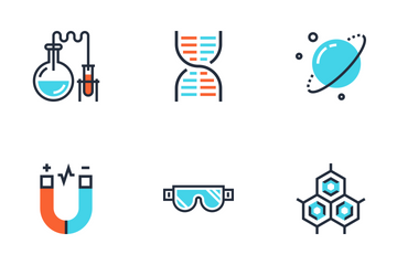 Research And Science Icon Pack
