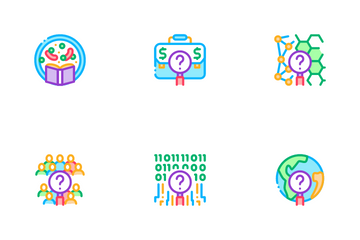 Researcher Business Icon Pack