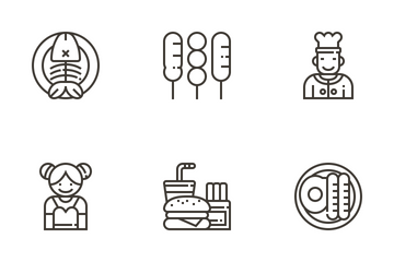 Restaurant Icon Pack