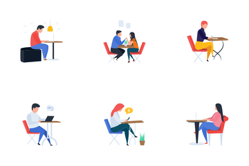 Restaurant And Meetings Icon Pack
