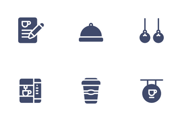 Restaurant & Cafe Icon Pack