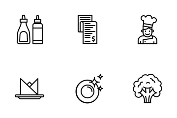 Restaurant Collection Icon Pack