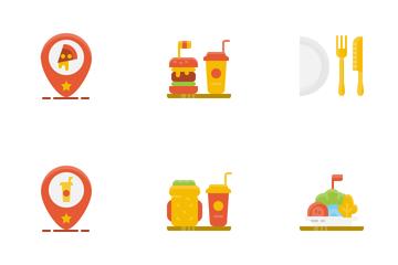 Restaurant Equipment Icon Pack