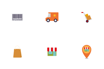 Retail And Commerce Icon Pack