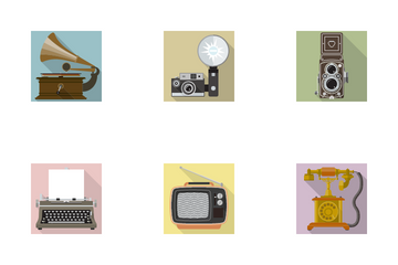 Retro Technology Icon Pack