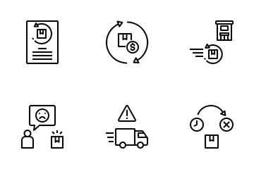 Reverse Logistics Icon Pack