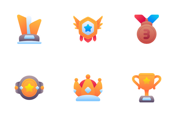 Reward And Badges Icon Pack