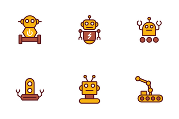 Robot Icon Pack