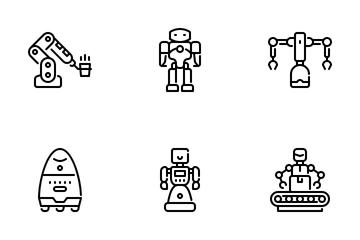 Robotic Icon Pack