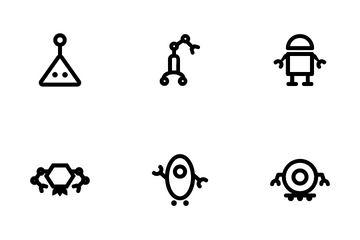 Robotic Icon Pack