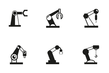 Robotic Arm 1 Icon Pack