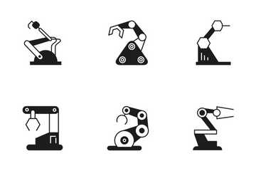 Robotic Arm 11 Icon Pack