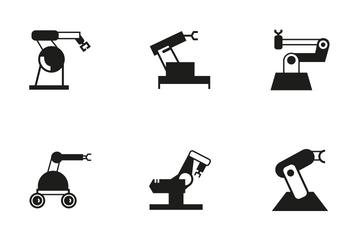 Robotic Arm 2 Icon Pack