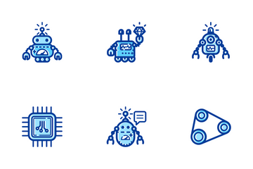 Robotic Color Icon Pack