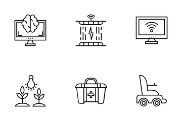 Robotic Surgery Icon Pack
