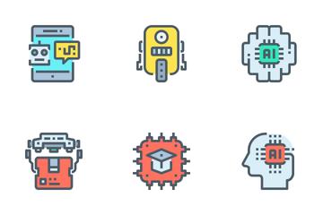 Robotics  Icon Pack