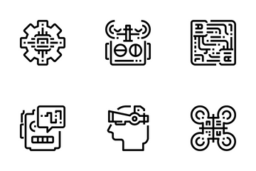 Robotics  Icon Pack