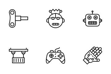 Robotics Engineering Icon Pack