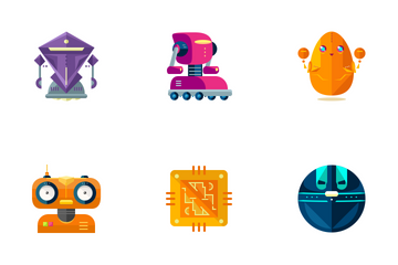 Robots  Icon Pack