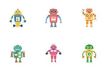 Robots 2 Icon Pack