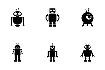 Robots Vector Icons Icon Pack