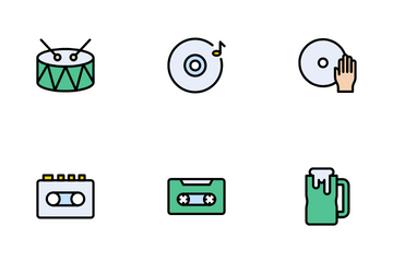 Rock And Roll Icon Pack