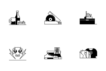 Rock Element Icon Pack