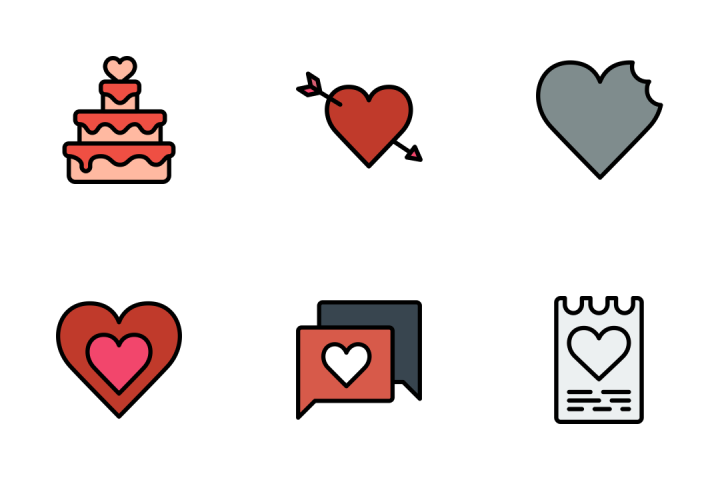 Romance And Lifestyle 2 - Retro Icon Pack