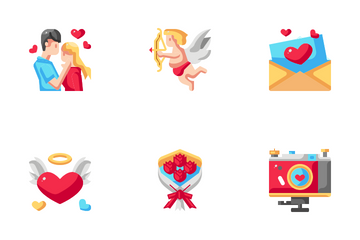 Romantic And Love Icon Pack